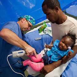 Kevin Olehnik in Haiti