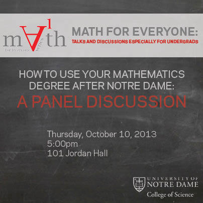 Math for Everyone - October 2013