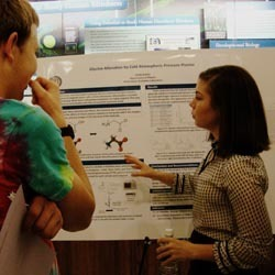 Emily Kunce presents her research at FURF 2013