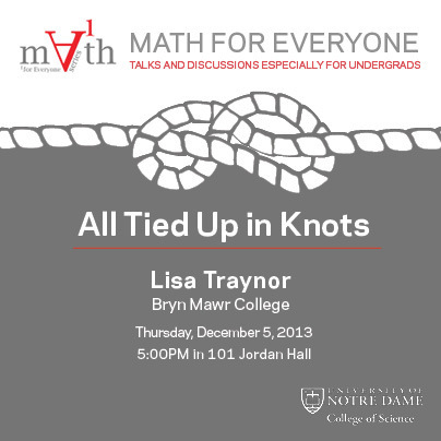 Math for Everyone: All Tied Up in Knots