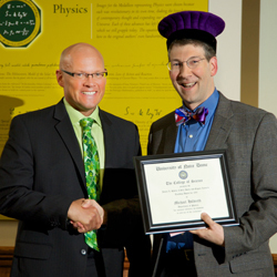 Michael Hildreth receives 2014 Shilts/Leonard Award