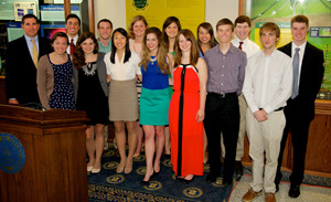 2014 Glynn Family Honors Program science graduates