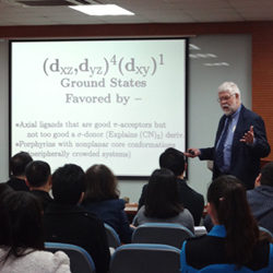 Schedit gives a seminar in Beijing
