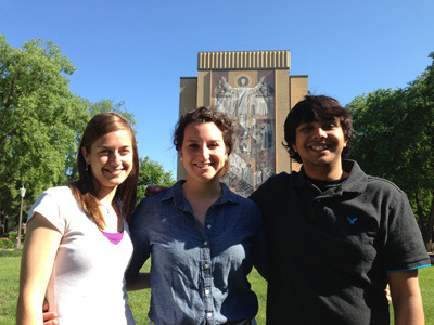Graduate students in the Schafer lab