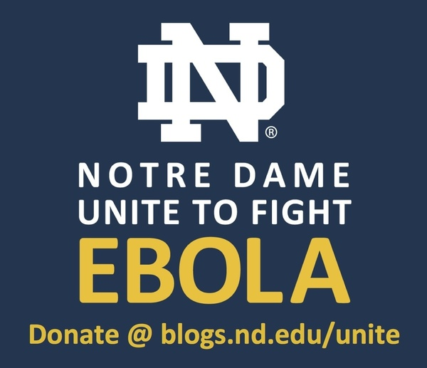 ND Unite to Fight Ebola