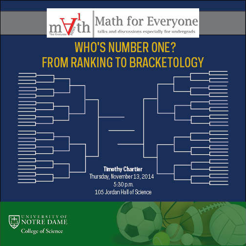 Math for Everyone -- November 2014