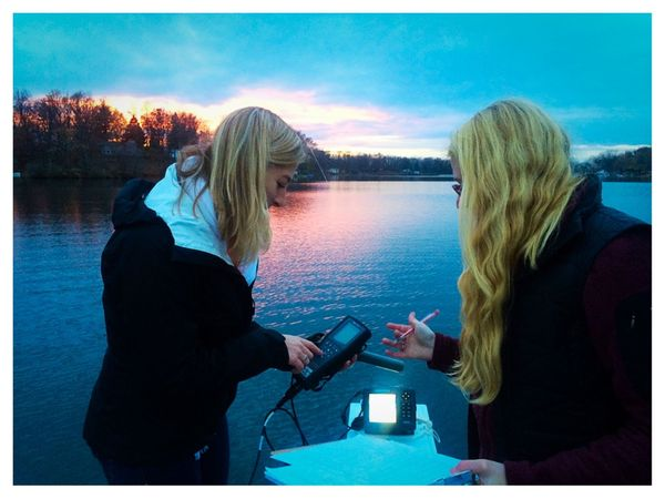 Student in Sustainability Minor conducting ecology and anthropology research on lake health