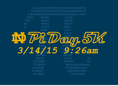 2015 Pi Day 5K