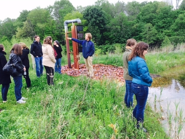 Sustainability Across the Curriculum faculty workshop visits ND-LEEF