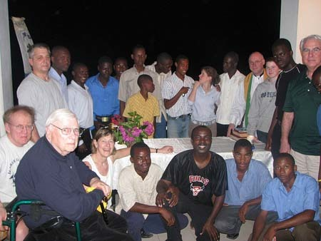 Emil Hofman visits Haiti in 2009