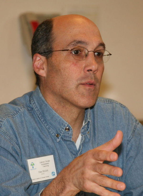 Daniel Misleh, Executive Director of the Catholic Climate Covenant