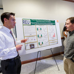 Nathan Rehmeyer, Skidmore College student 2016 Analytical Chemistry REU