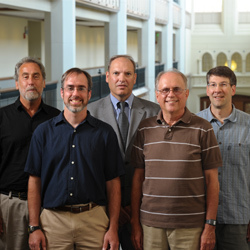High Energy Physics Group: Mitch Wayne, Kevin Lannon, Colin Jessup, Randy Ruchti, And Mike Hildreth