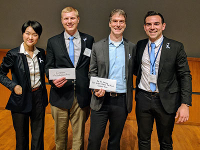 Business plan competition winners announced