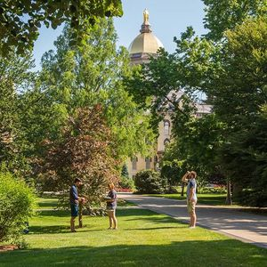Growing beauty: Tree survey marks 175 years of natural beauty at Notre Dame