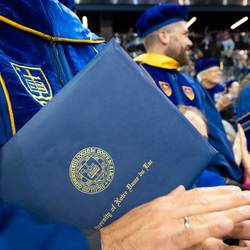 Graduate School Commencement And Diploma