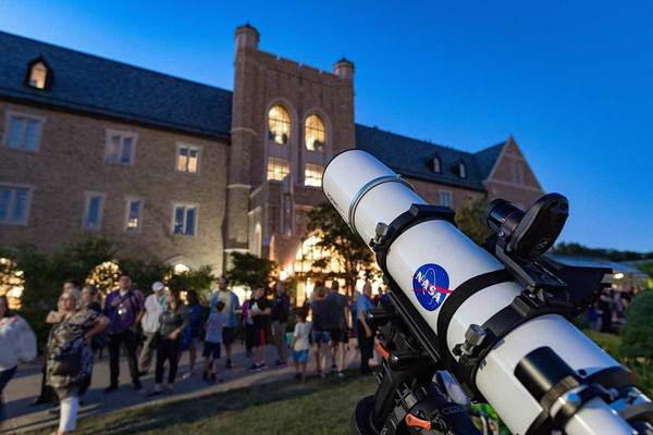 Telescope and Jordan Hall