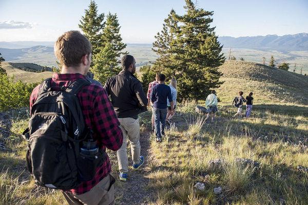Hike in Montana