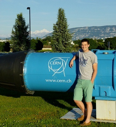 Kevin McDermott at CERN