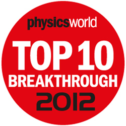 Top 10 Physics Breakthroughs of 2012