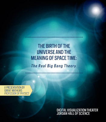 Birth of the Universe and the meaning of space-time: The real big bang theory (DVT Presentation)