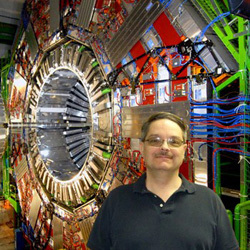 Don Lincoln at CERN