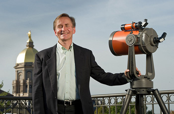 Peter Garnavich, professor of physics